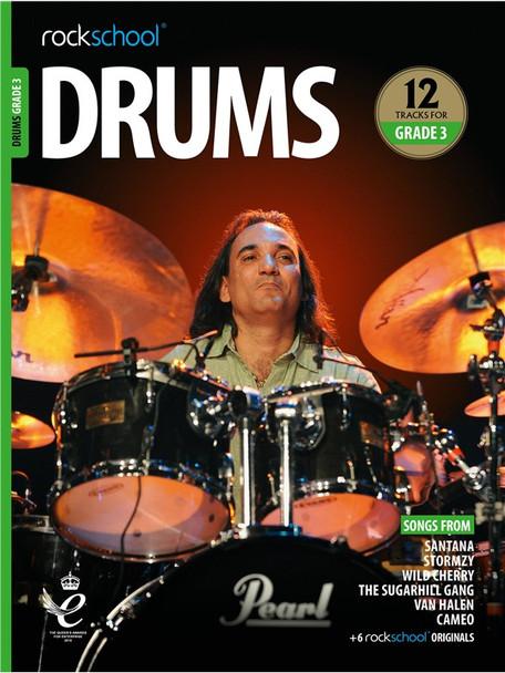 Rockschool: Drums Grade 3 2018 (Book/Audio)