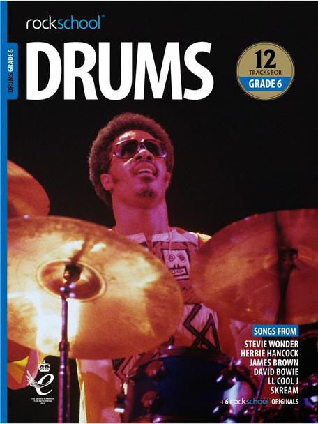 Rockschool: Drums Grade 6 2018 (Book/Audio)