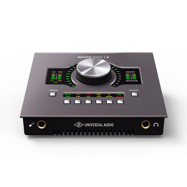 Universal Audio Apollo Twin X QUAD Heritage Edition Thunderbolt 3 Audio Interface with DSP