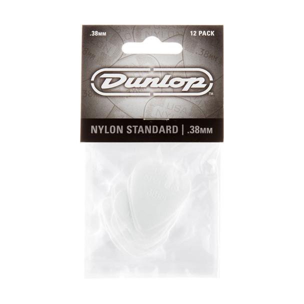 Dunlop Nylon Standard Picks .38mm, 12 Pack
