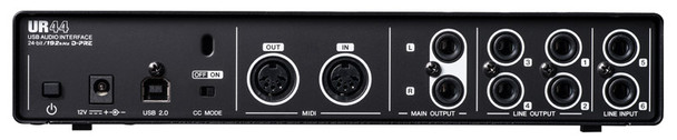 Steinberg UR44 6x4 USB Audio Interface