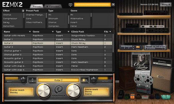 Toontrack EZmix 2 Effects Processing Software