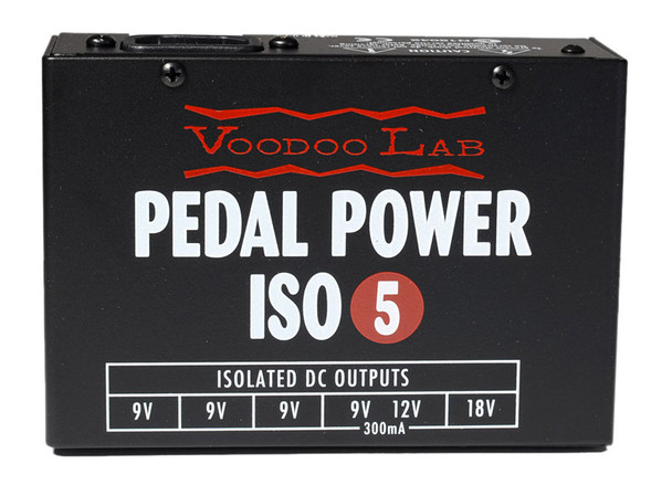 VooDoo Lab ISO-5 Effects Power Supply For DC Pedals