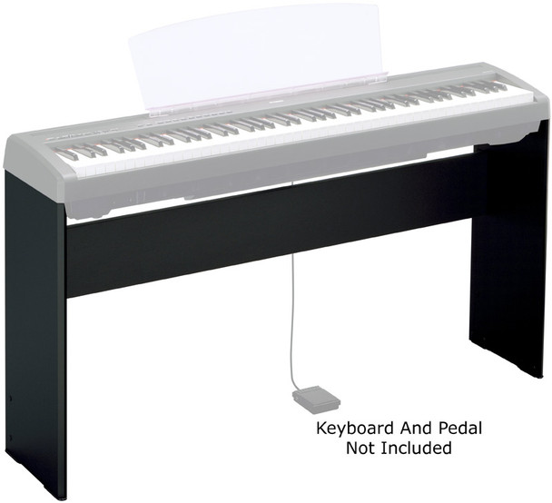 Yamaha L85 Stand for P45/P115 Digital Piano, Black