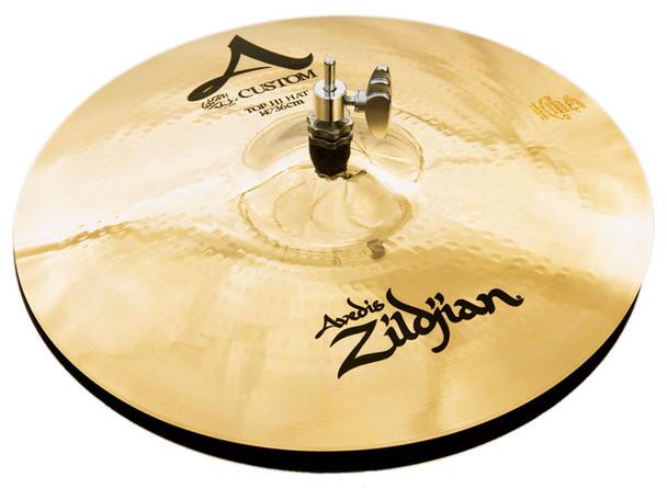 Zildjian A Custom 14 Inch Hi Hat Cymbals