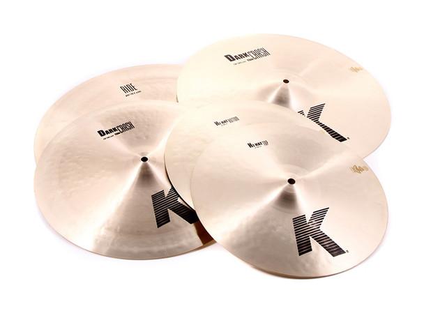 Zildjian K-Zildjian Cymbal Pack with Free 18 inch K Dark Thin Crash