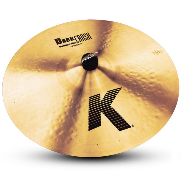Zildjian K Dark 18 Inch Medium Thin Crash Cymbal