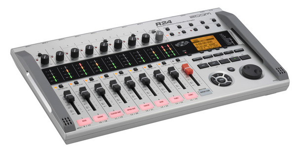 Zoom R24 Multitrack Recorder, Audio Interface, MIDI Controller and Sampler