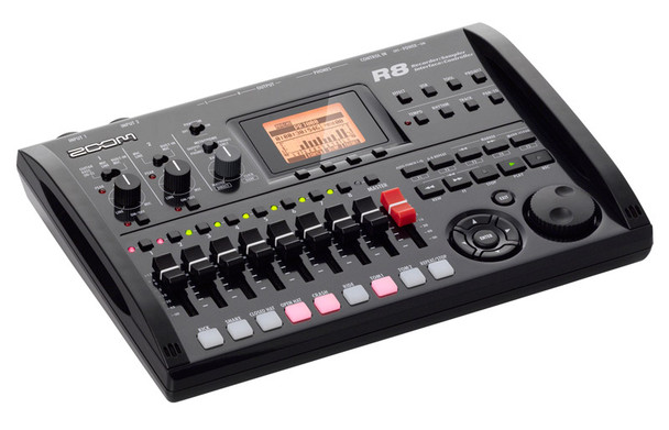 Zoom R8 Multitrack Recorder, Audio Interface, MIDI Controller and Sampler