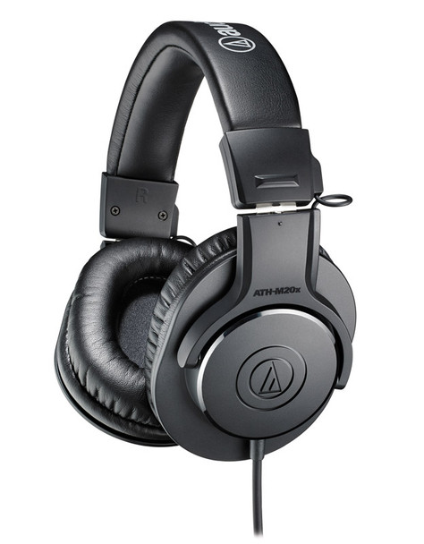 Audio Technica ATH-M20x Closed Back Headphones