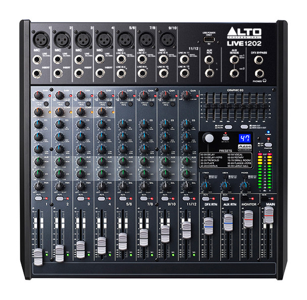 Alto Live 1202 12 Channel Mixing Desk