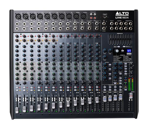 Alto Live 1604 16 Channel Mixing Desk