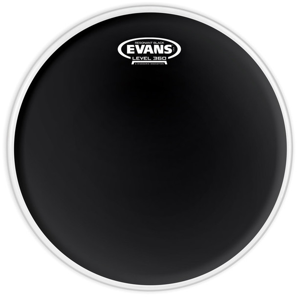 Evans TT10RBG 10 Inch Black Resonant Drum Head