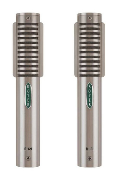 Royer Labs R-121 Mono Ribbon Microphones, Matched Pair