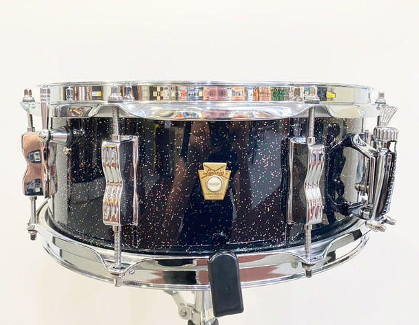 Ludwig 14 x 5.5 Jazz Fest Snare Drum in Galaxy Sparkle (pre-owned)