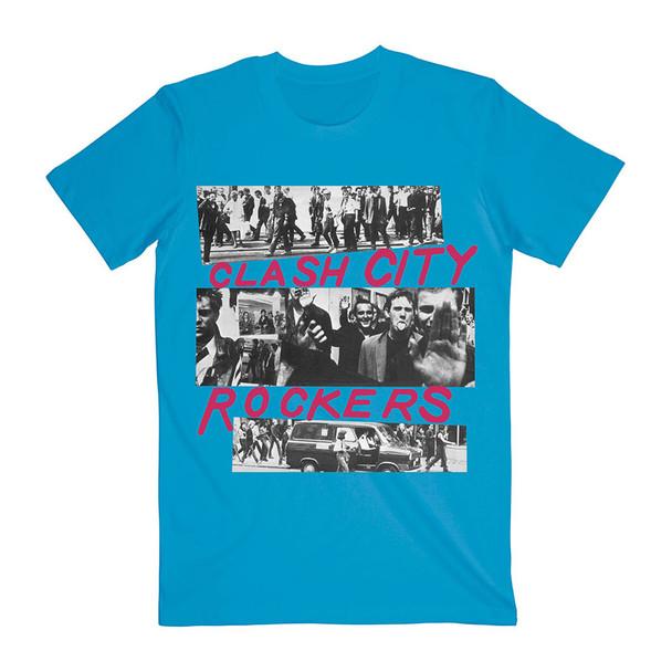 The Clash Unisex Tee: City Rockers (Medium)