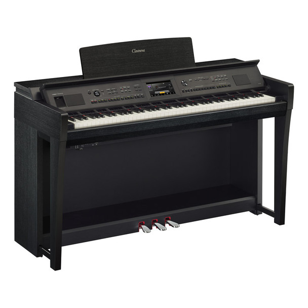 Yamaha CVP-805B Clavinova Digital Piano, Black Walnut