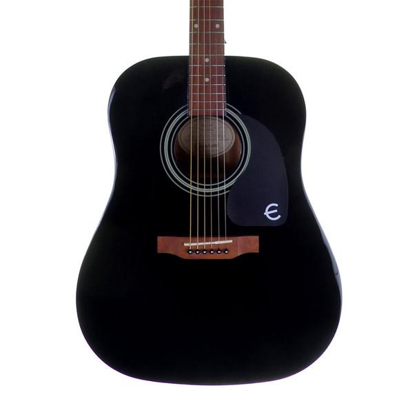 Epiphone PRO-1 Steel String Acoustic Guitar, Ebony