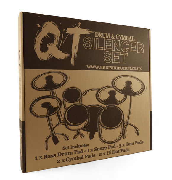 QT Silencer Pads, Boxed Set, 22 Inch Rock