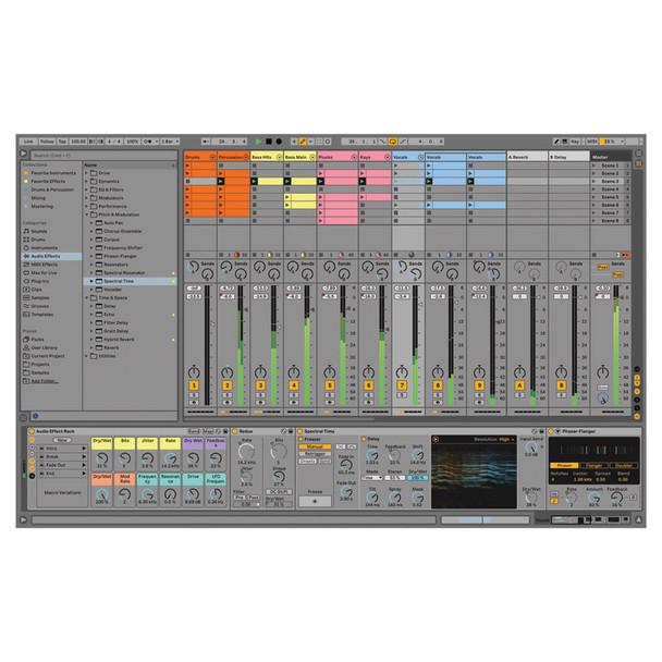 Ableton Live 11 Standard Audio/MIDI Recording Software (Download)