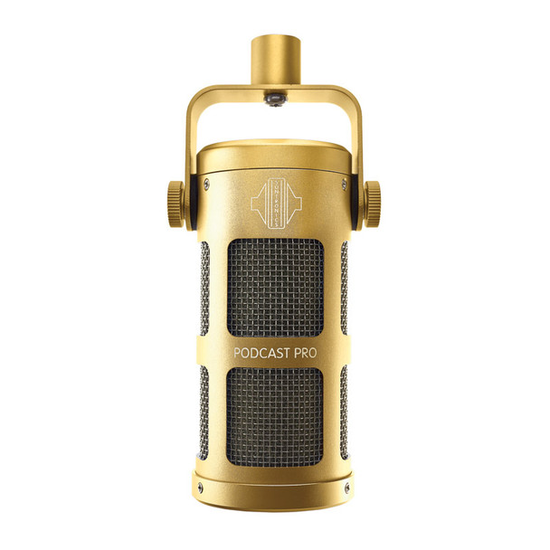 Sontronics Podcast Pro Podcasting Microphone, Gold