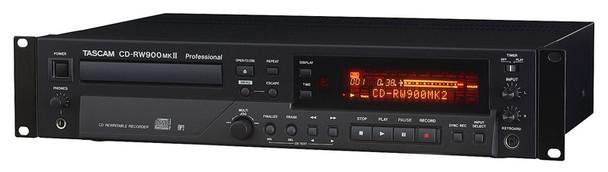 Tascam CD-RW900MK2 Rackmount CD Recorder  (ex-display)