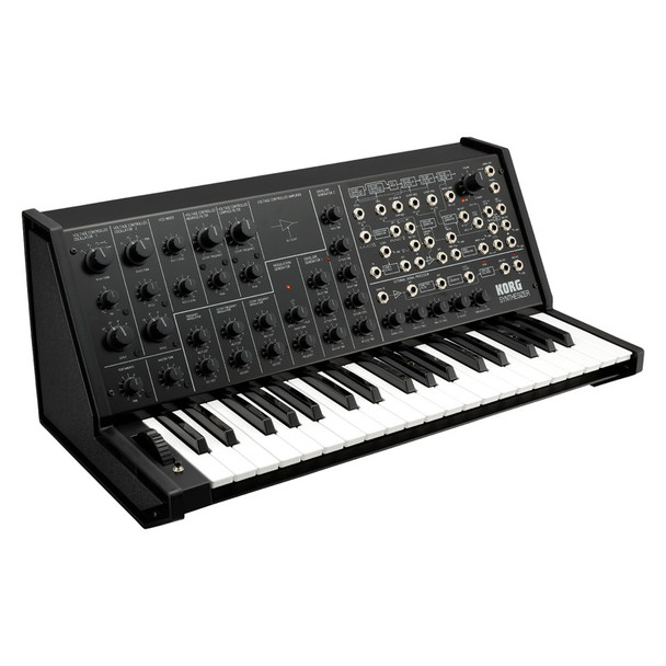 Korg MS-20 FS Analogue Synthesizer, Limited Edition Black