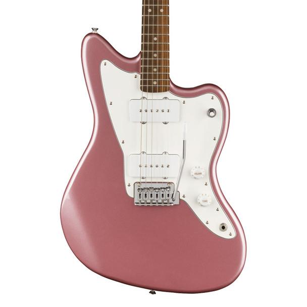 Fender Squier Affinity Series Jazzmaster Electric Guitar, Burgundy Mist, Laurel