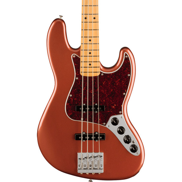 Fender Player Plus Jazz Bass, Aged Candy Apple Red, Maple