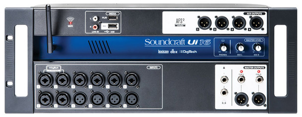 Soundcraft Ui16 Remote Controlled Digital Mixer