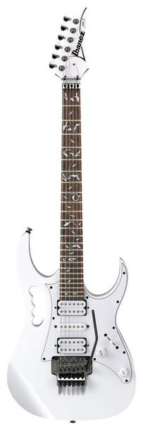 Ibanez JEMJR-WH Steve Vai Signature Electric Guitar, White
