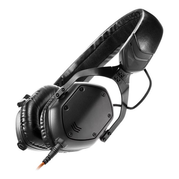 V-Moda XS On-Ear Headphones, Matte Black Metal