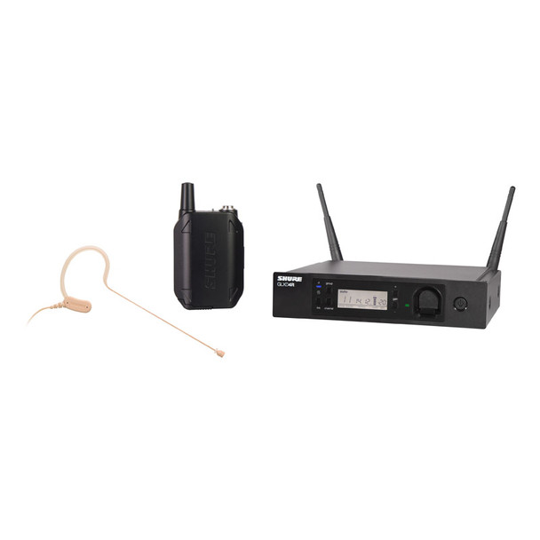 Shure GLXD14/MX53 Digital Wireless Earset MX153 Microphone System