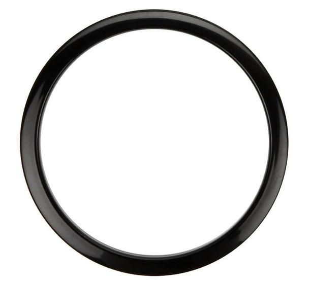 Bass Drum Os Port Reinforcement Hoop, 4-inch, Black