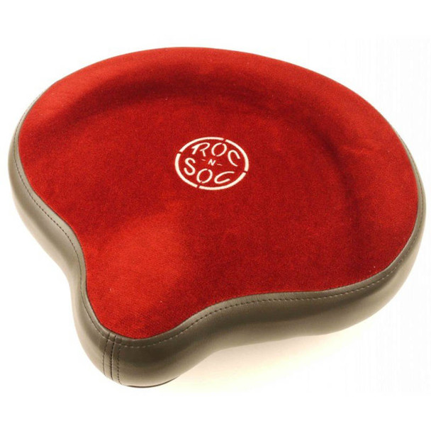 Roc n Soc Drum Throne Saddle Top, Red