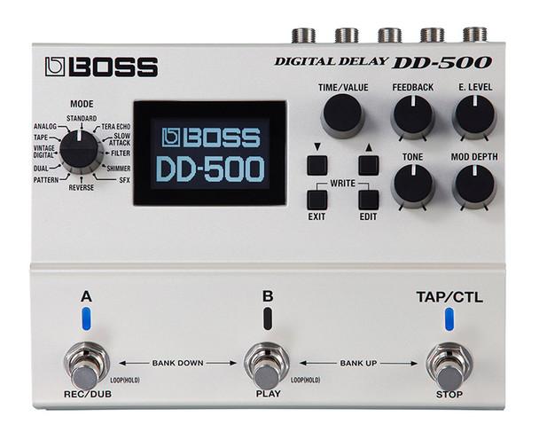 Boss DD-500 Digital Delay Effects Pedal