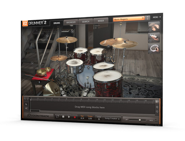 Toontrack EZX Post-Rock Expansion for EZ Drummer (Serial Download)