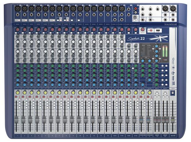Soundcraft Signature 22 Analogue Mixing Console