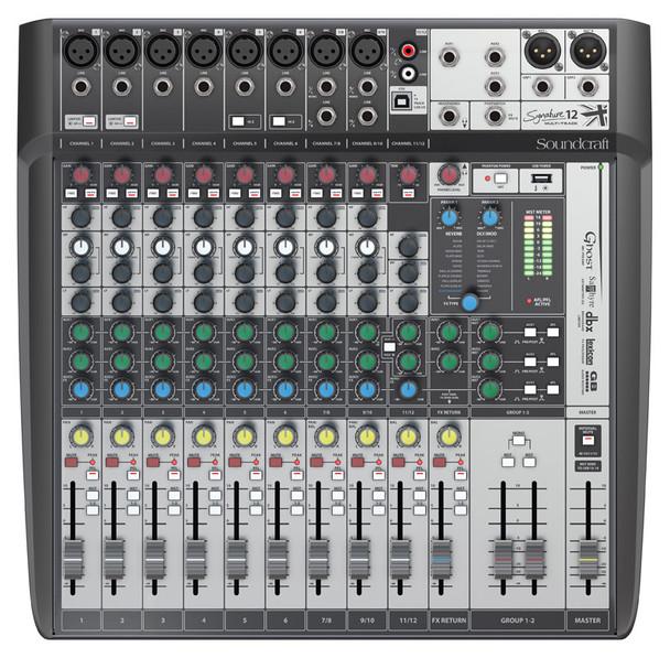 Soundcraft Signature 12 MTK Analogue Mixing Console