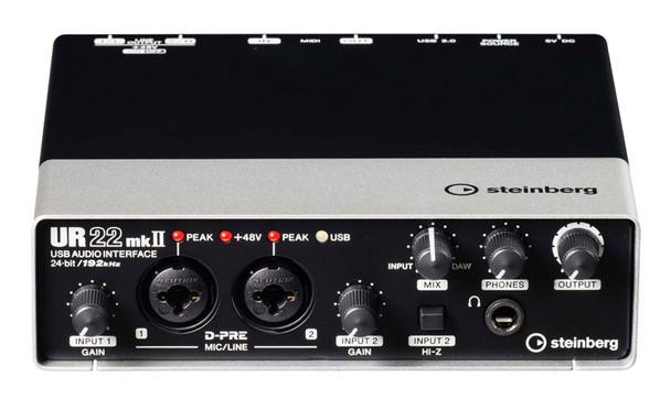 Steinberg UR22 Mk2 2x2 USB Audio Interface