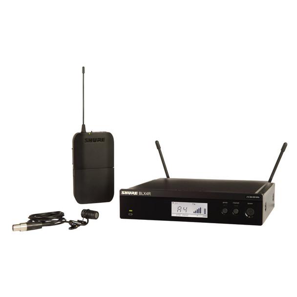 Shure BLX14RUK/W85 Wireless Rack-mountable System, WL185 Lavalier Mic