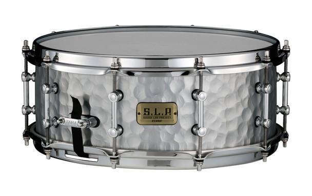 Tama SLP 14 x 5.5 Vintage Hammered Steel Snare Drum