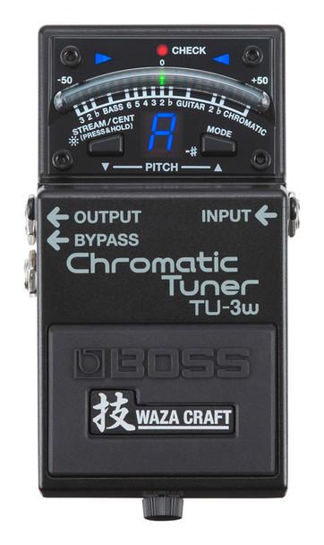 Boss Waza Craft TU-3W Chromatic Tuner Pedal
