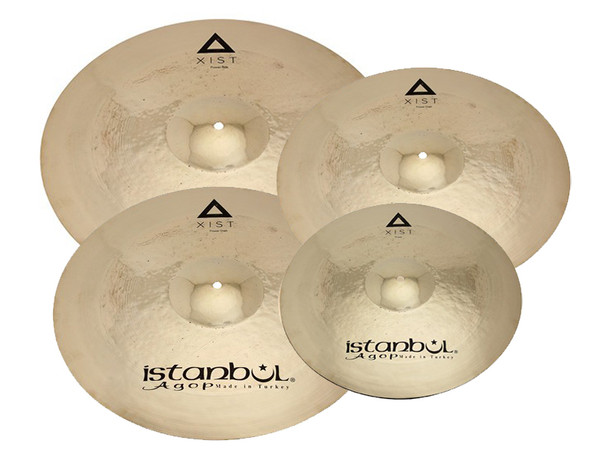 Istanbul XIST Power 4 Cymbal Set with Free Case