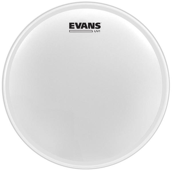 Evans B14UV1 UV1 Coated Snare/Tom Batter Head, 14 Inch