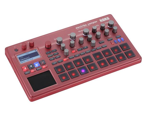 Korg Electribe 2S Sampler Music Production Station, Red
