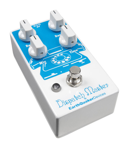 EarthQuaker Devices Dispatch Master V2 Delay & Reverb Guitar Effects Pedal