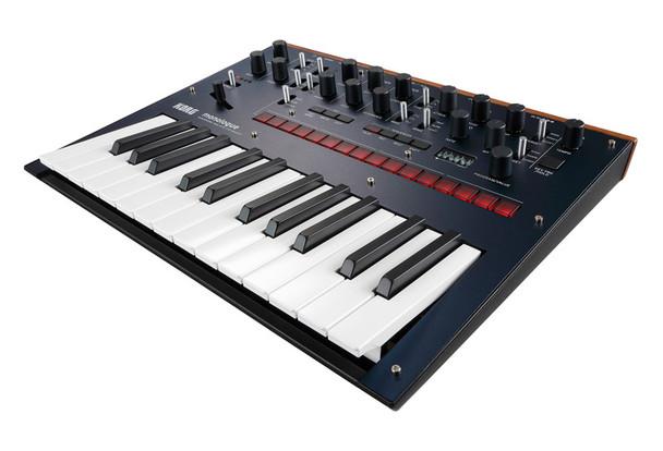 Korg Monologue Monophonic Analogue Synthesizer, Dark Blue