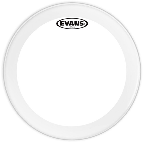 Evans BD22GB3 EQ3 22 Inch Clear Bass Drum Head
