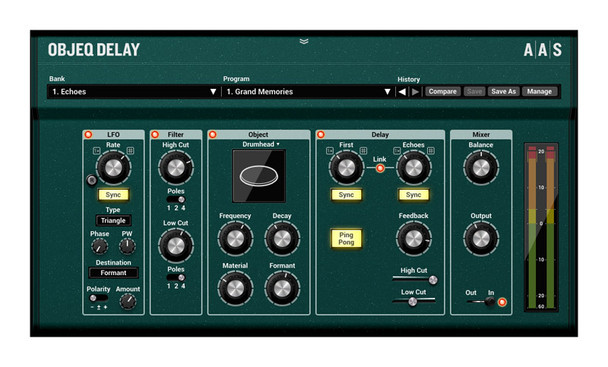 Applied Acoustics Systems Objeq Delay (Serial Download)